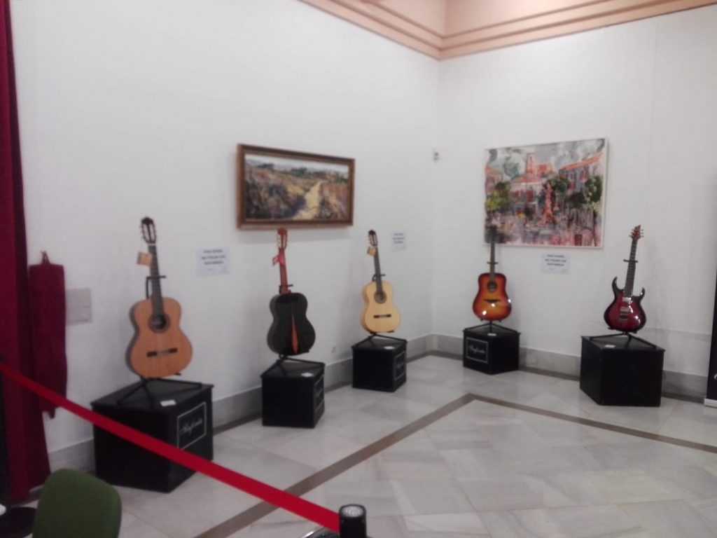 guitarra española en sevilla