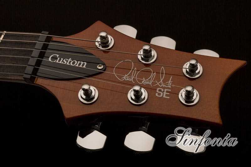guitarra electrica prs se custom 22 clavijero