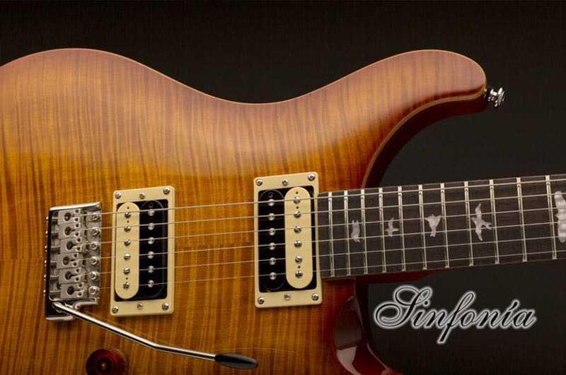 guitarra electrica prs se custom 22 cuerpo
