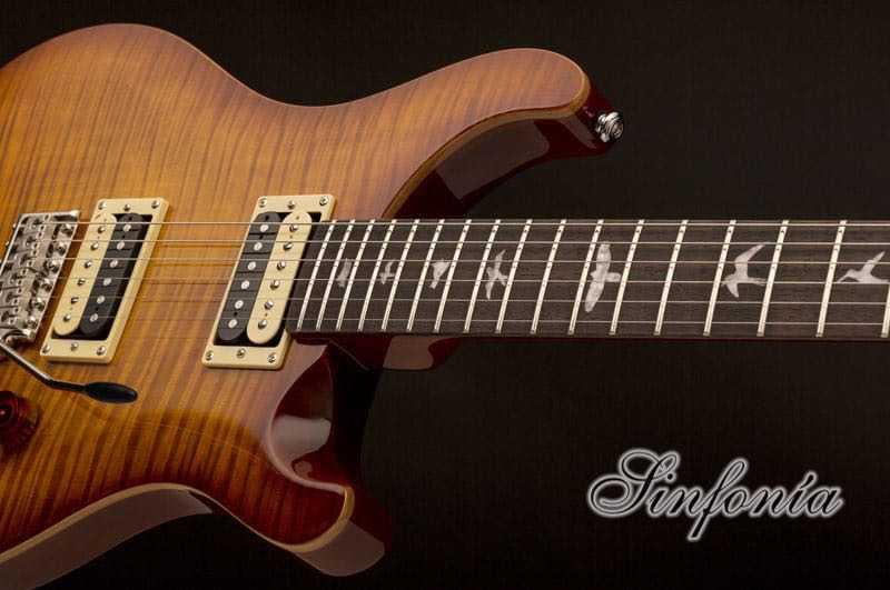 guitarra electrica prs se custom 22 trastes