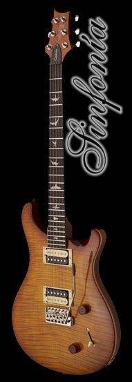 guitarra electrica prs se custom 22 vintage sunburst