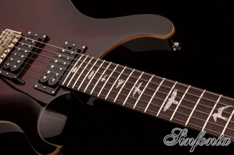 guitarra electrica prs se custom 24 cuerpo