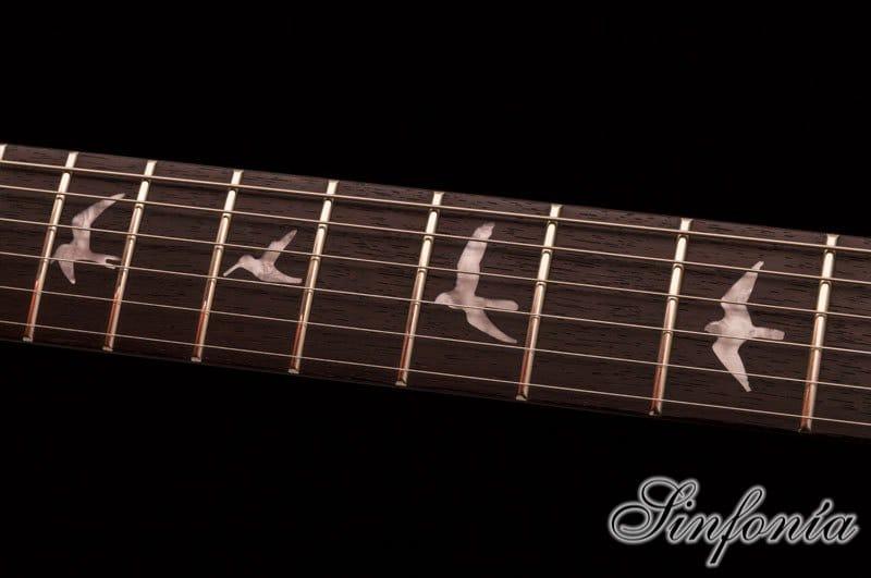 guitarra electrica prs se custom 24 mastil