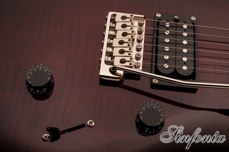 guitarra electrica prs se custom 24 tuners