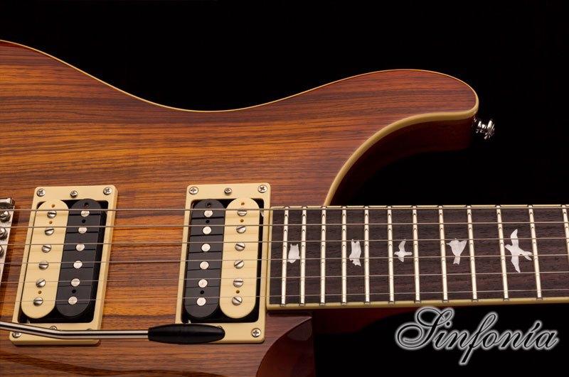 guitarra electrica prs se custom 24 zebrawood puente