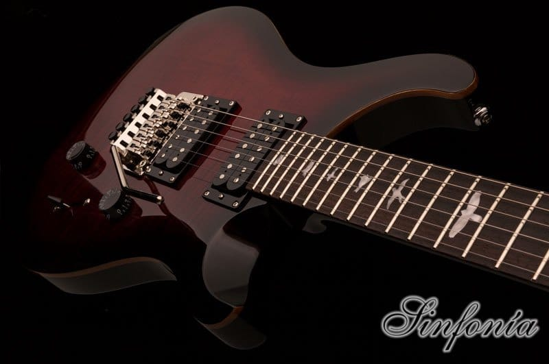 guitarra electrica prs se floyd custom 24 cuerpo
