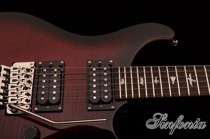 guitarra electrica prs se floyd custom 24 diapason