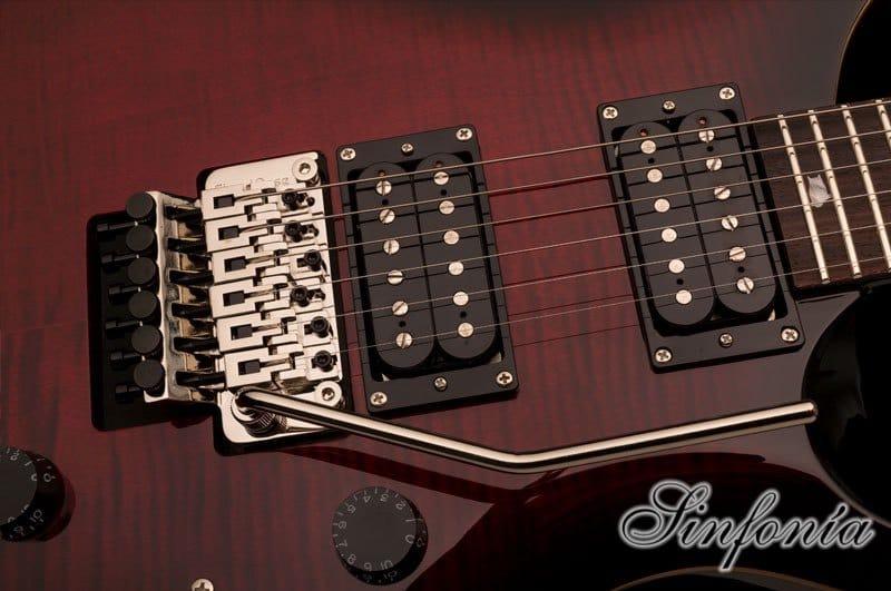 guitarra electrica prs se floyd custom 24 puente