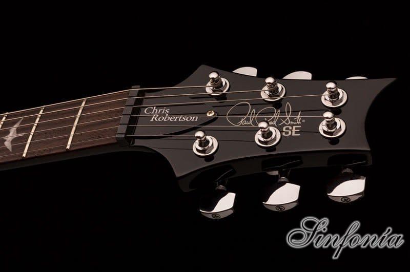 guitarra electrica se chris robertson clavijero