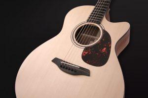 Guitarra acústica furch blue gc sw cuerpo