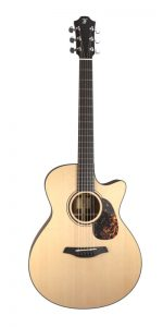Guitarra acústica furch blue gc sw frontal
