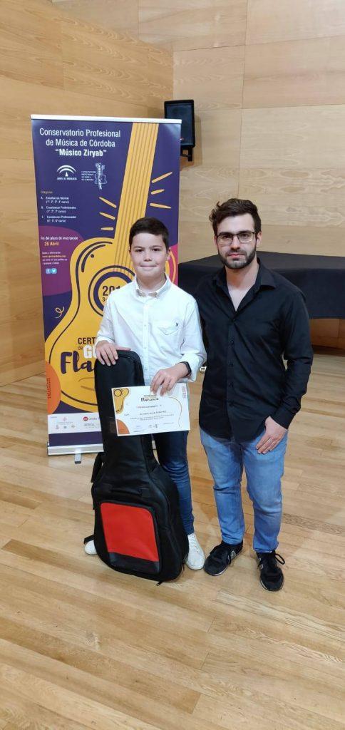 certamen guitarra flamenca 1er premio