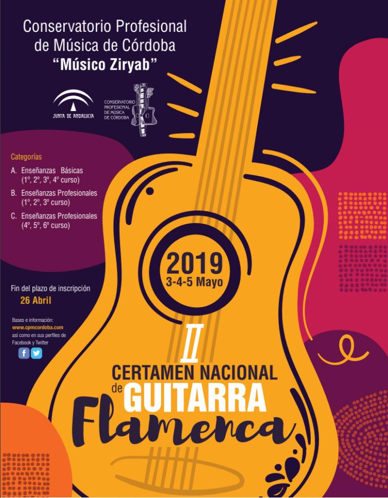 certamen nacional de guitarra flamenca
