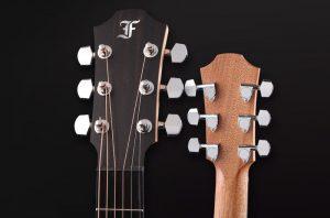 guitarra acústica indigo cy clavijeros