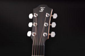 guitarra acústica violet sy clavijero