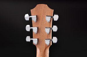 guitarra acústica violet sy clavijeros metálicos
