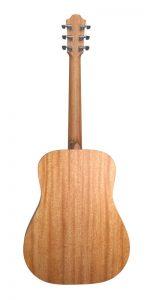 guitarra acústica violet sy trasera