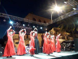 actuacion de academia de baile ecija