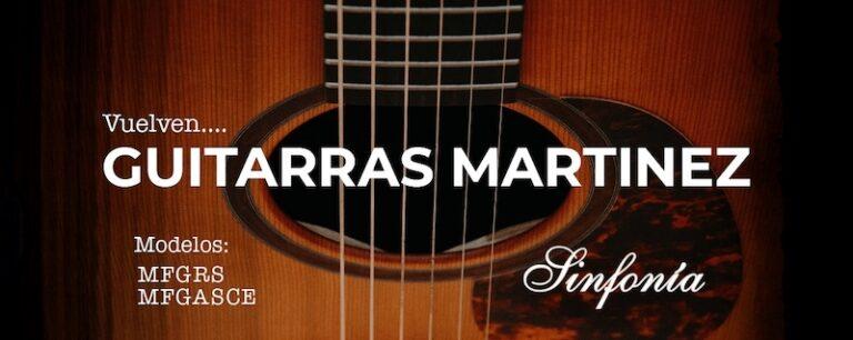 guitarras martinez mfg