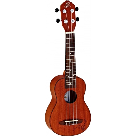 UKELELE ORTEGA RU5MM SO SOPRANO CAOBA