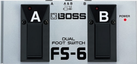 PEDAL BOSS FS6 DOBLE FOOT SWITCH