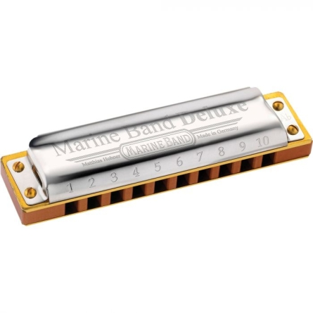 ARMONICA HOHNER MARINE BAND DELUXE NOTA A
