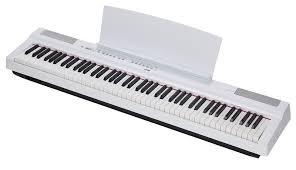 PIANO YAMAHA P125 COLOR BLANCO