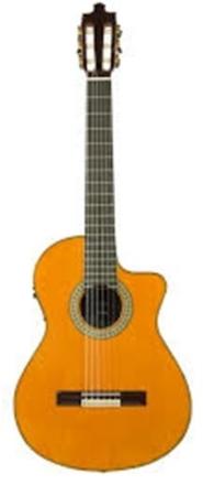 GUITARRA ALVAREZ Y BERNAL FLAMENCA ELECTRIFICADA MODELO TRIANA N  SER 17 18