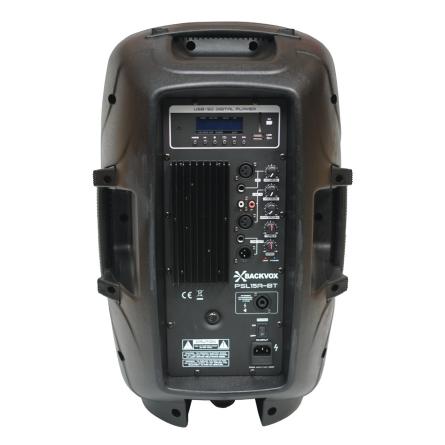 ALTAVOZ BACKVOX PSL15ABT 15  AUTOAMPLIFICADO MP3   BLUETOOTH