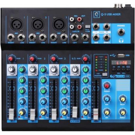 MESA OQAN Q5 MK2 3 CANALES MICRO 1 STE USB