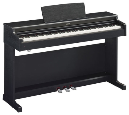 PIANO YAMAHA YDP164 COLOR NEGRO