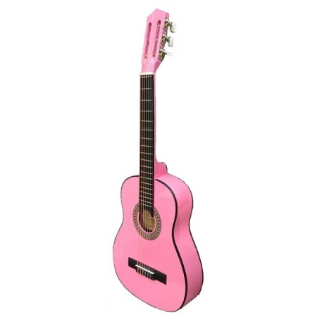 GUITARRA ROCIO JUNIOR C6PK ROSA 1 4 75 CM