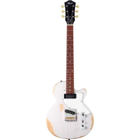 GUITARRA CORT SUNSET TC WORN WHITE BLONDE
