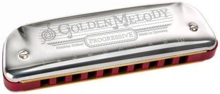 ARMONICA HOHNER GOLDEN MELODY F