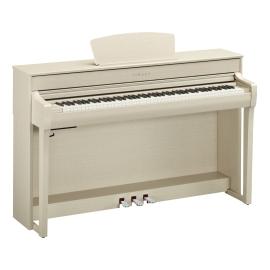 PIANO YAMAHA CLP735 COLOR BLANCO CENIZA