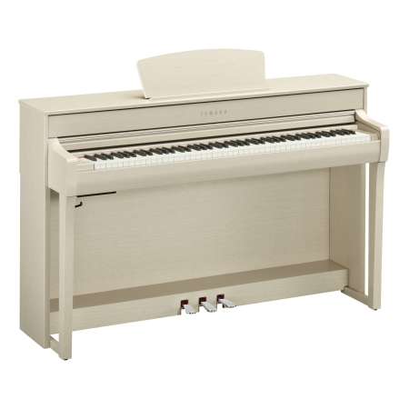 PIANO YAMAHA CLP735 COLOR BLANCO CENIZA