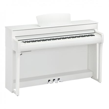 PIANO YAMAHA CLP735 COLOR BLANCO