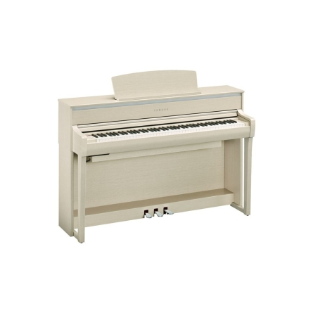 PIANO YAMAHA CLP775 COLOR BLANCO CENIZA