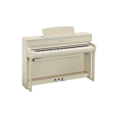 PIANO YAMAHA CLP775 COLOR BLANCO CENIZA