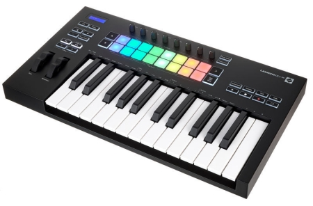 TECLADO NOVATION LAUNCHKEY25 MK3 CONTROLADOR