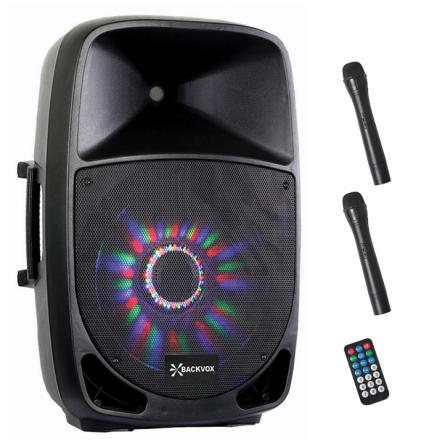 ALTAVOZ BACKVOX PSA15ABT USB BLUETOTH DOS MICROS Y LED