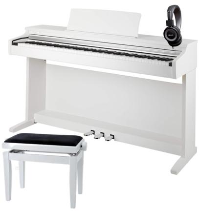 PACK PIANO KAWAI KDP110W BLANCO   BANQUETA   AURICULARES
