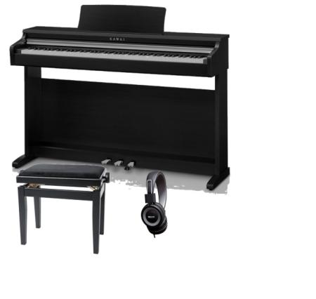 PACK PIANO KAWAI KDP110B NEGRO   BANQUETA   AURICULARES