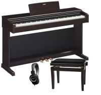 PACK PIANO YAMAHA YDP144R PALISANDRO   BANQUETA  AURICULARES