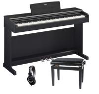 PACK PIANO YAMAHA YDP144B NEGRO   BANQUETA   AURICULARES