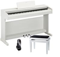 PACK PIANO YAMAHA YDP144WH BLANCO   BANQUETA   AURICULARES