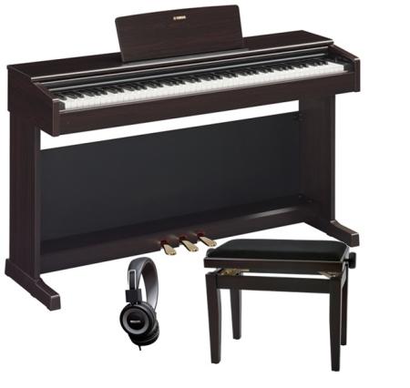 PACK PIANO YAMAHA YDP164R PALISANDRO   BANQUETA  AURICULARES