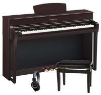 PACK PIANO YAMAHA CLP735R PALISANDRO   BANQUETA  AURICULARES