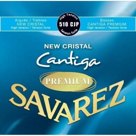 JUEGO CUERDAS SAVAREZ CANTIGA PREMIUM 510 CJP TENSION ALTA