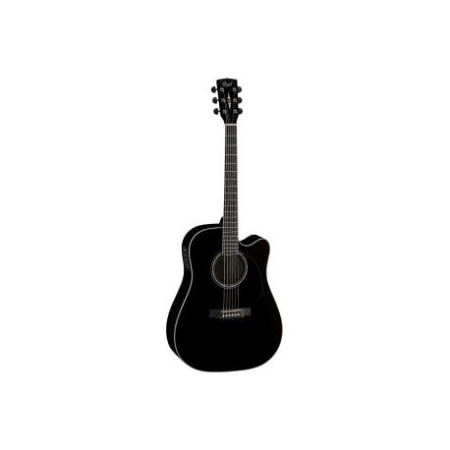 GUITARRA CORT ELECTROACUSTICA MR710FBK DREADNOUGHT NEGRA